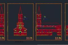 Restaurierungsplan-Kirche